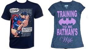 T-Shirts sexistes : la réponse de DC
