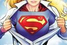 Quatre personnages connus dans la série tv Supergirl