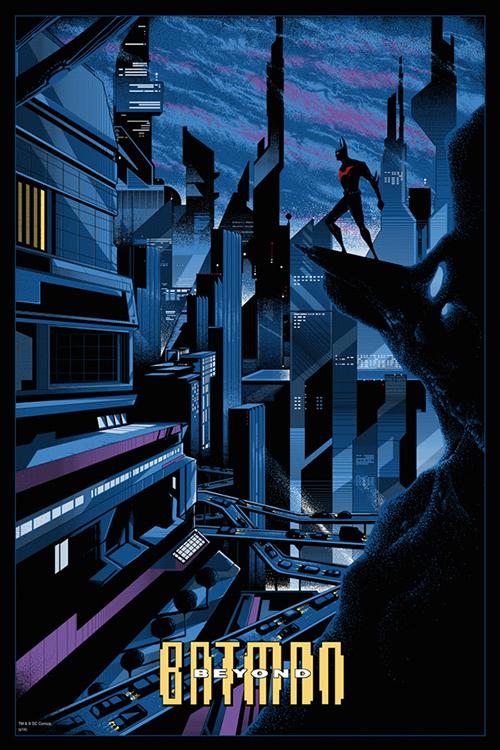 Batman Beyond by Kilian Eng