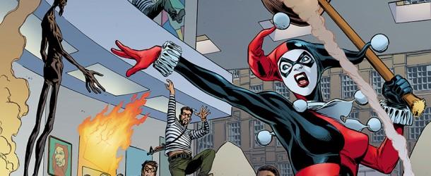Actualités : DC Planet Convergence-HarleyQuinn-610x250