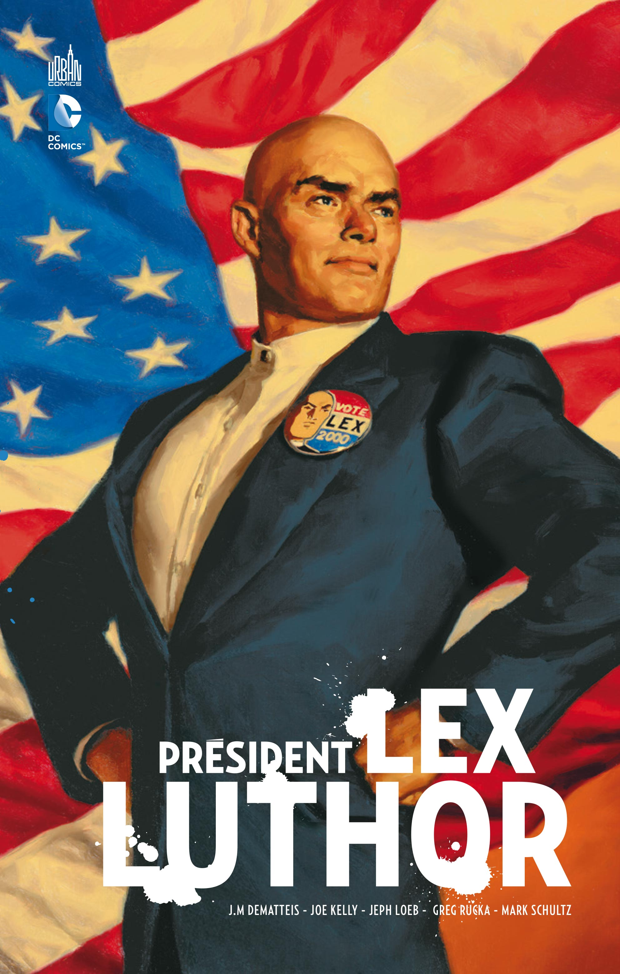 [Preview VF] Président Lex Luthor | DCPlanet.fr