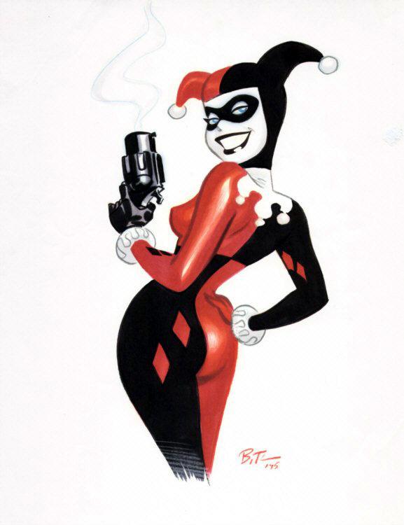 Harley Quinn Dessin