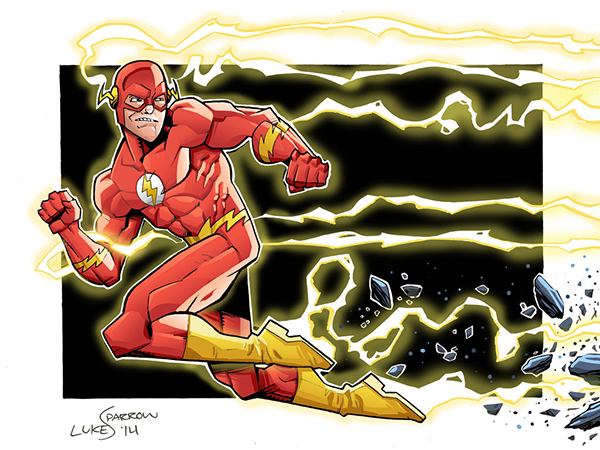 the_flash_by_lukesparrow