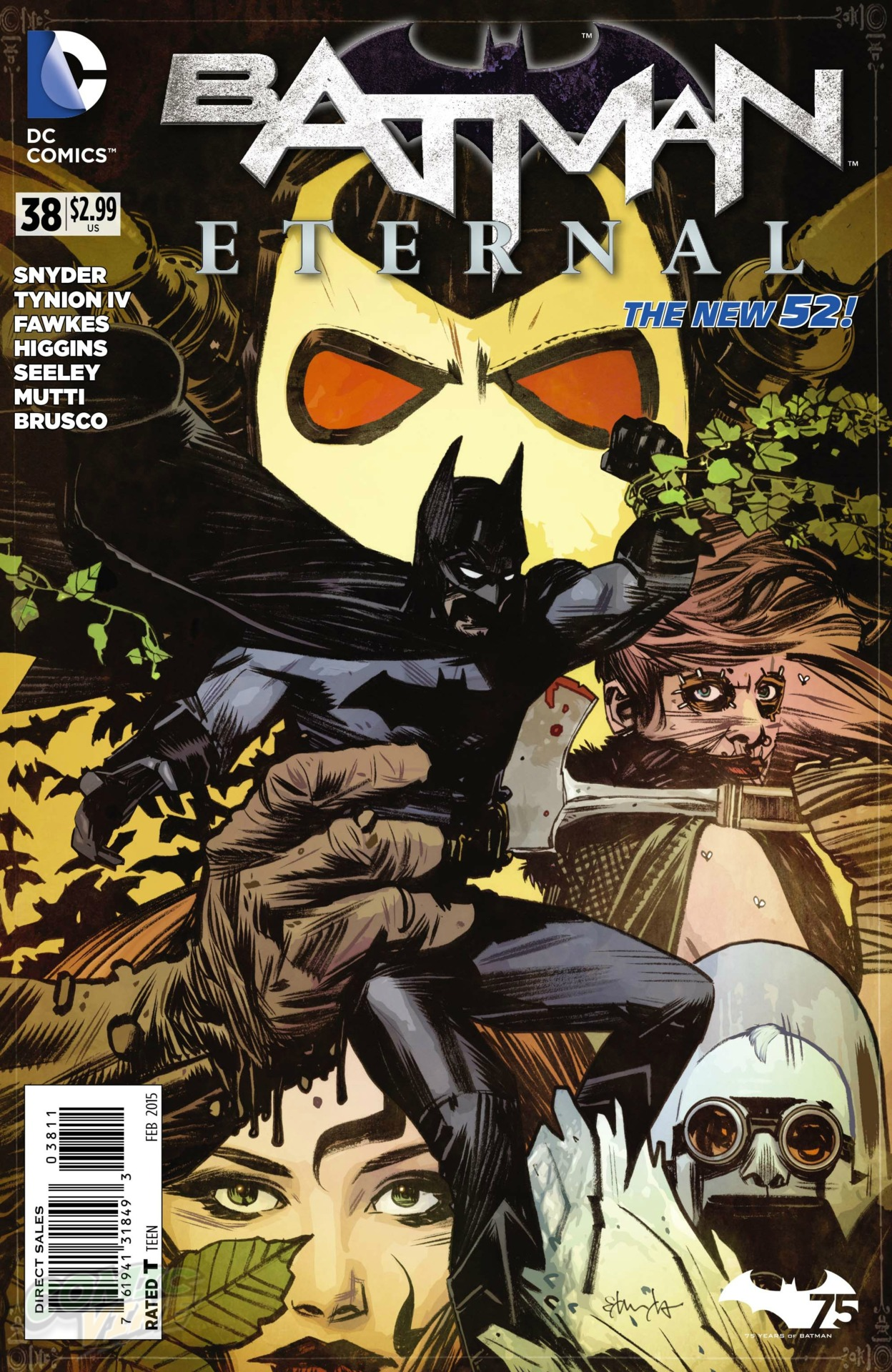 preview vo  batman eternal  38