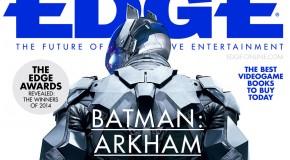 Arkham Knight fait la couverture de EDGE Magazine