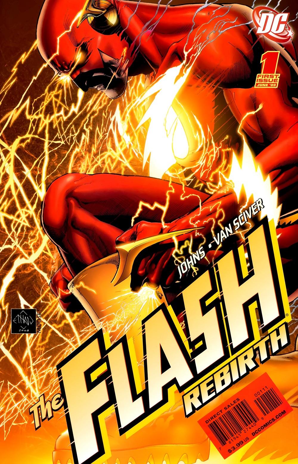 Review VO de The Flash : Rebirth