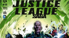 Review VF – Justice League Saga #15