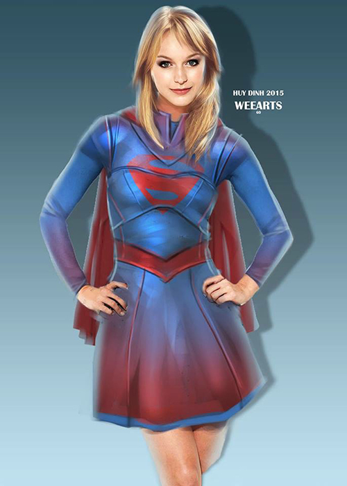 CBS Supergirl Weearts-supergirl