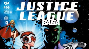 Review VF – Justice League Saga #16