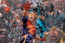 Covers et variantes pour Endgame, Deathstroke et Earth 2 : World's End