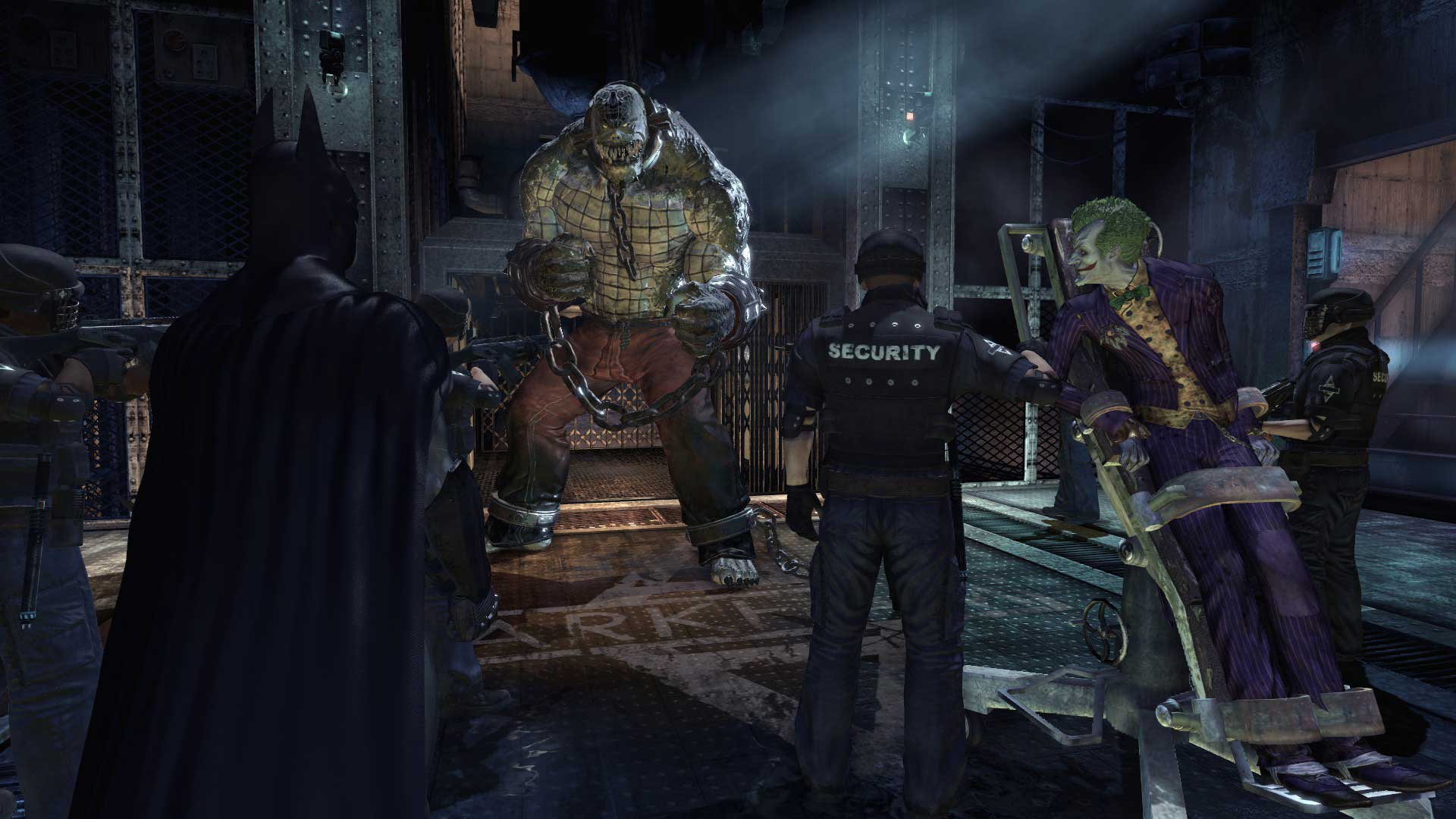 how to get to killer croc in arkham asylum