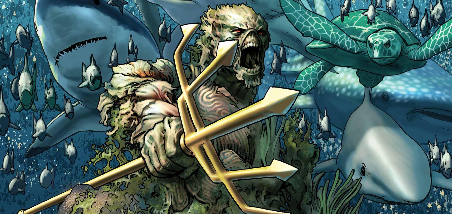 Aquaman Tome 4 - Swamp Thing #32
