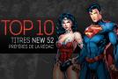 Top 10 (selon nous) #5 : titres New 52