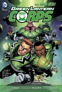 Critique de Green Lantern Corps vol 1 Fearsome