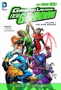 Critique de Green Lantern New Guardians Vol 1 - The Ringbearer