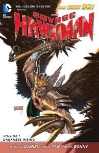 Critique de The Savage Hawkman Vol 1 - Darkness Rising