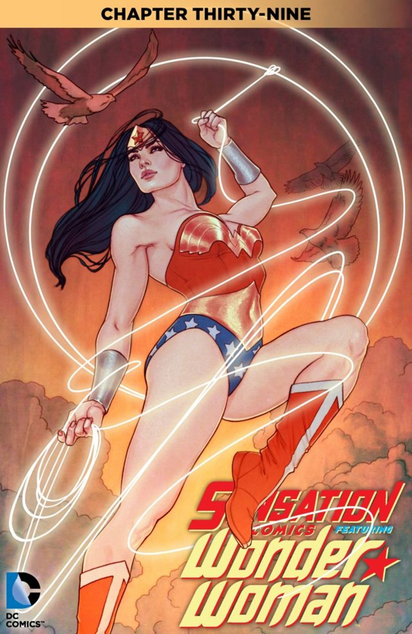 review SENSATION COMICS FEATURING WONDER WOMAN #39