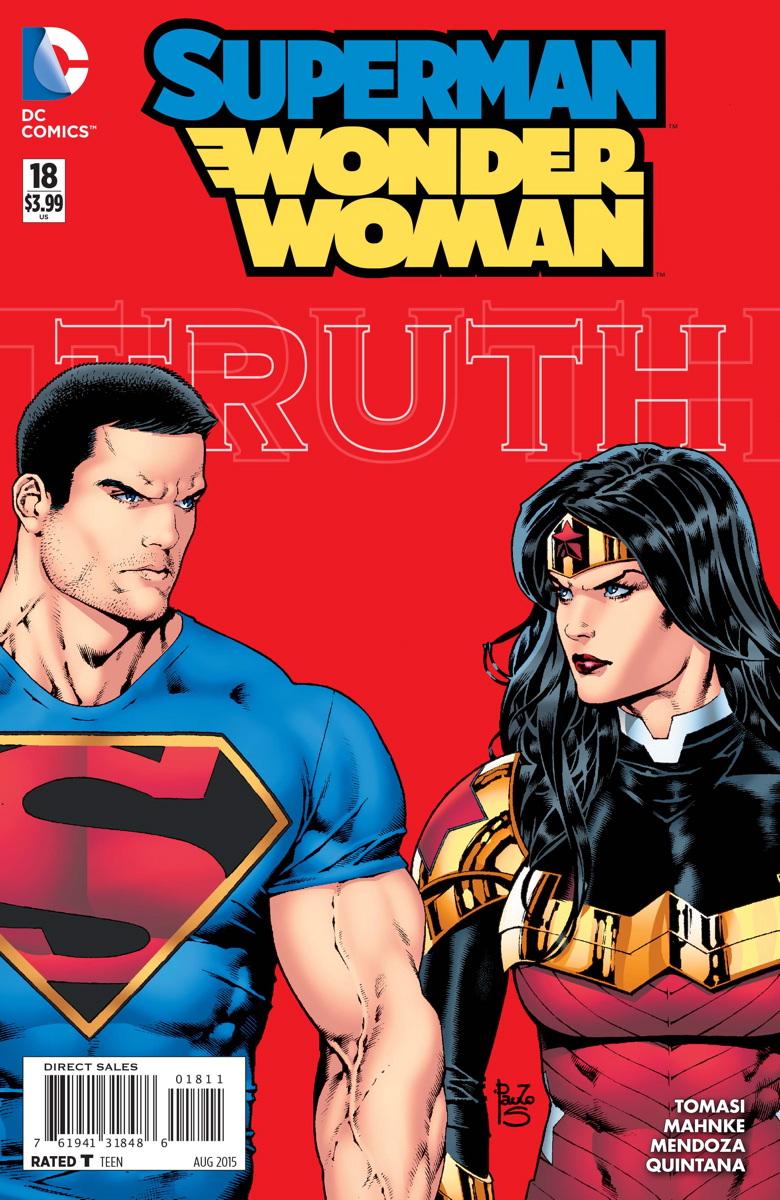 review SUPERMAN/WONDER WOMAN #18