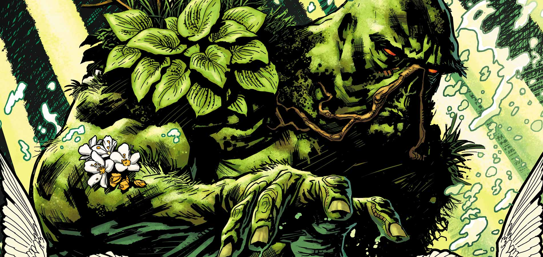 Survivor Super-héros Swamp-thing