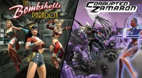 Bombshells et les Black Lantern arrivent sur DCU Online
