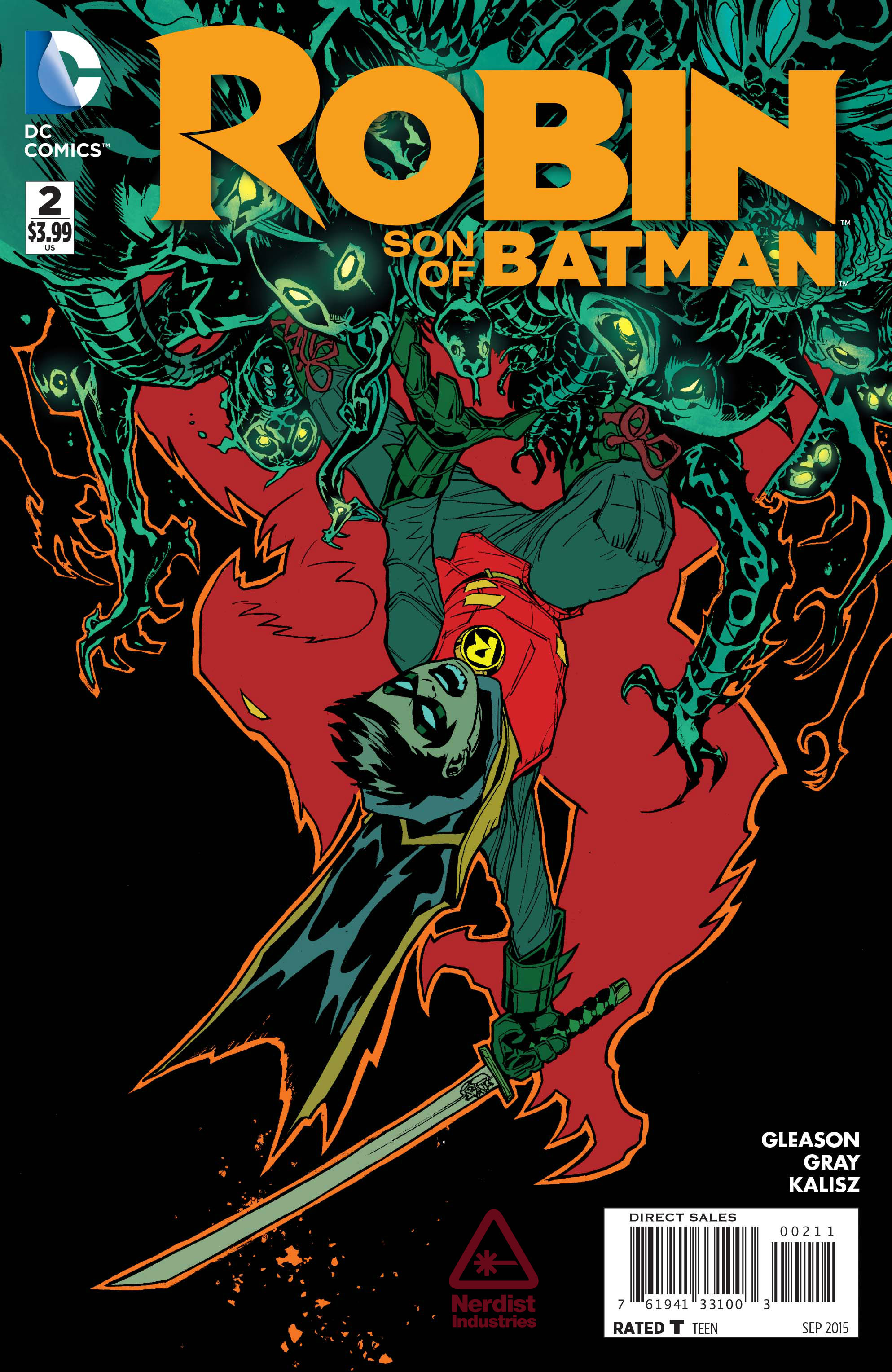 Preview VO - Robin : Son of Batman #2 | DCPlanet.fr