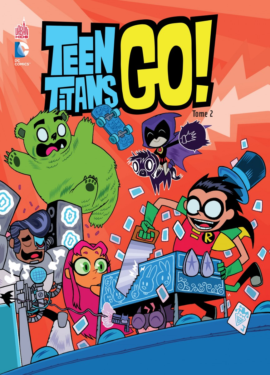 Preview Vf Teen Titans Go Tome 2 Dcplanet Fr