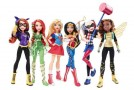 Mattel dévoile les premières figurines DC Super Hero Girls