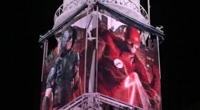 Le château d'eau de Warner Bros à l'image des séries TV  DC