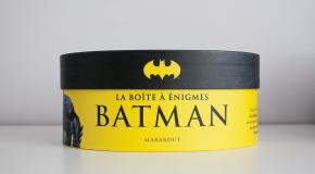 Unboxing – La boîte à énigmes Batman par Marabout