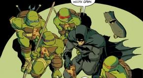 Plusieurs variant covers pour Batman/TMNT