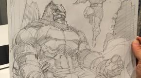 Un aperçu de la variant cover de Jim Lee pour Dark Knight III #2