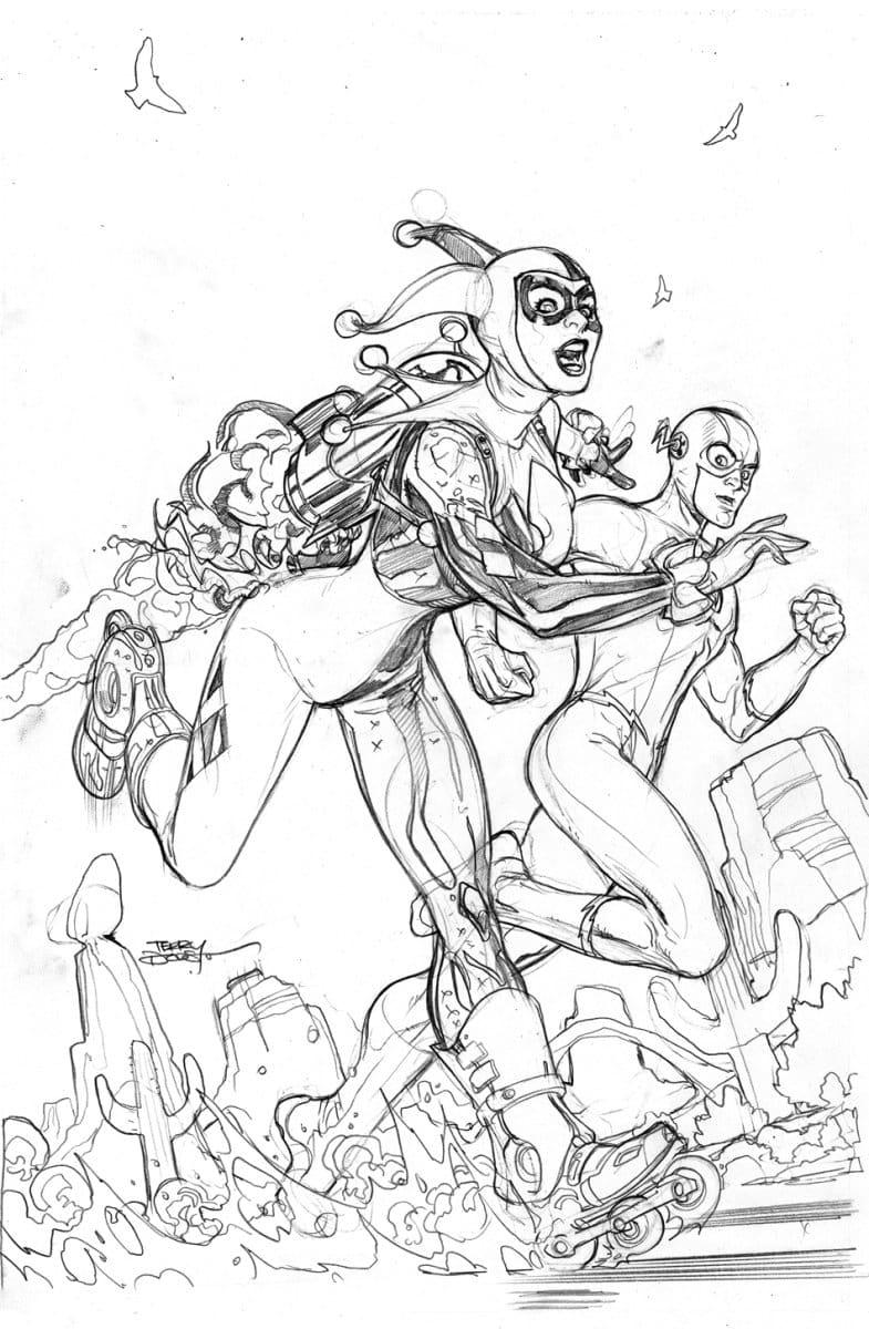 Harley Quinn et Flash