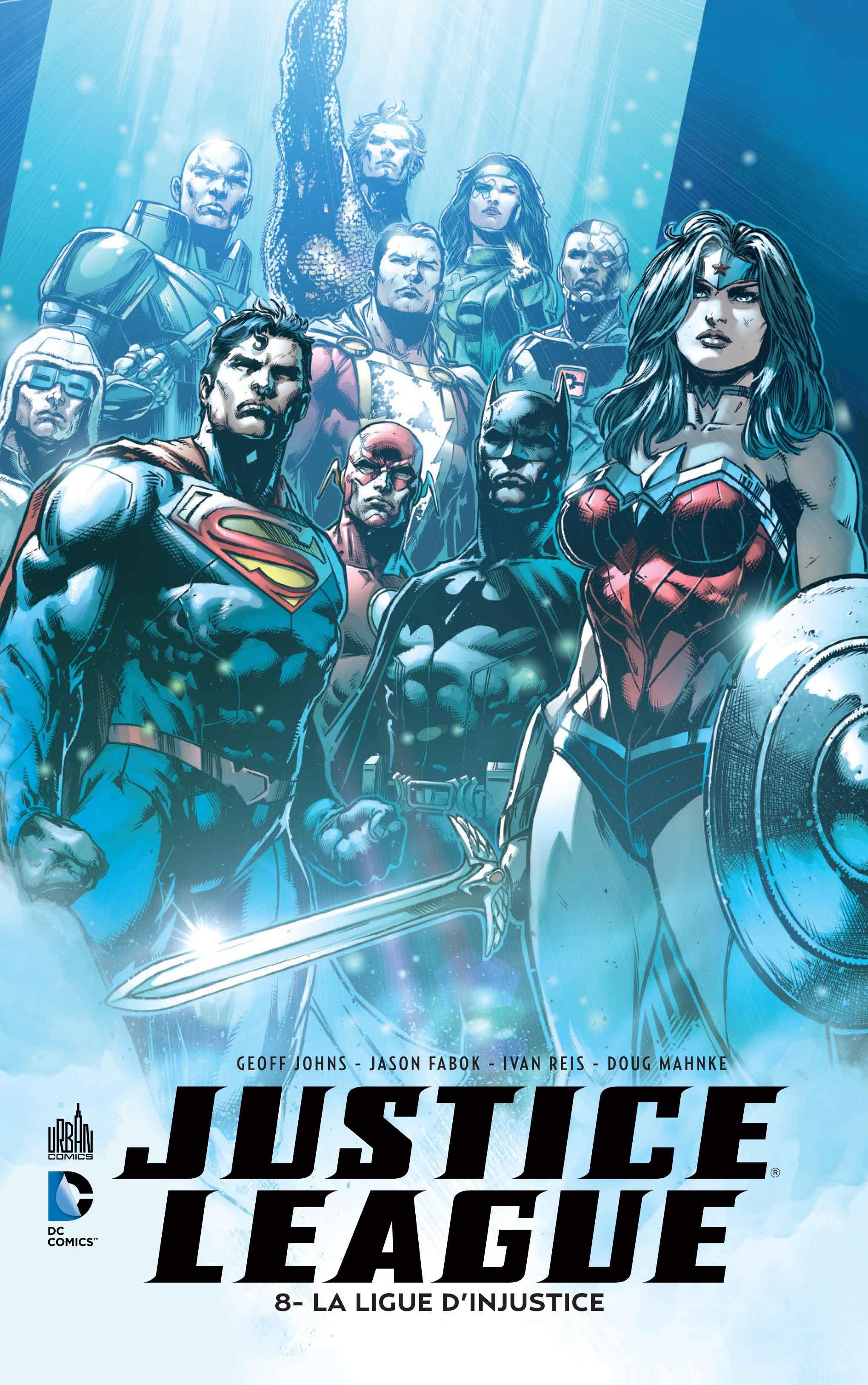 Review VF - Justice League Tome 8 : La Ligue d'Injustice 1