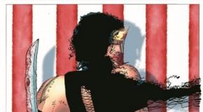 Dark Knight III : une image de Wonder Woman, armée et prête à se battre