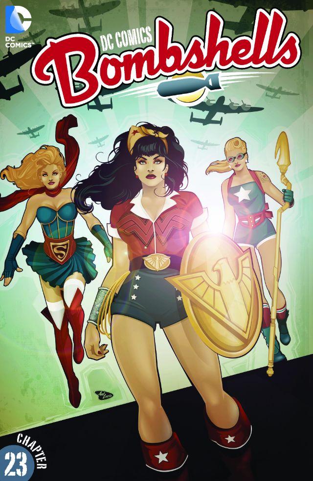 review DC COMICS : BOMBSHELLS #23