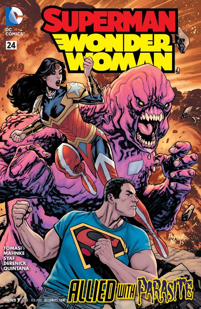 review SUPERMAN/WONDER WOMAN #24