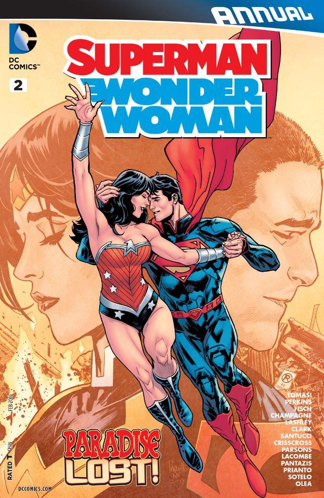 review SUPERMAN/WONDER WOMAN ANNUAL #2