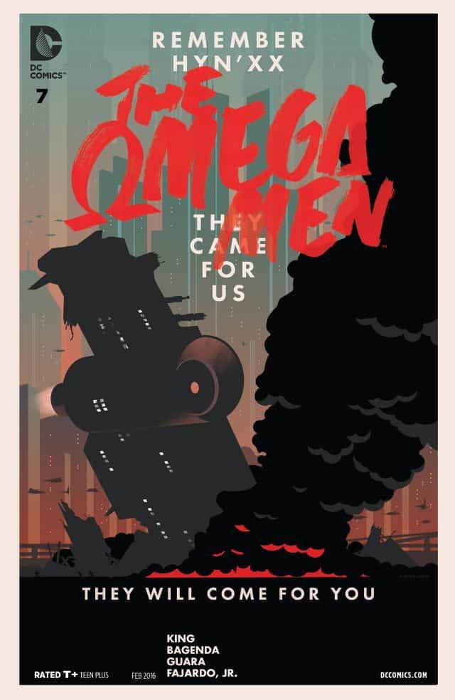 review THE OMEGA MEN #7