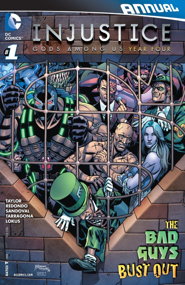 review INJUSTICE : GODS AMONG US YEAR FOUR ANNUAL #1