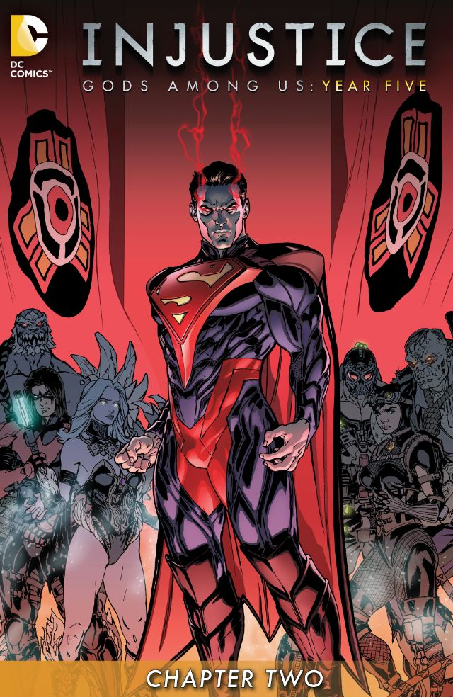 review INJUSTICE : GODS AMONG US YEAR FIVE #2