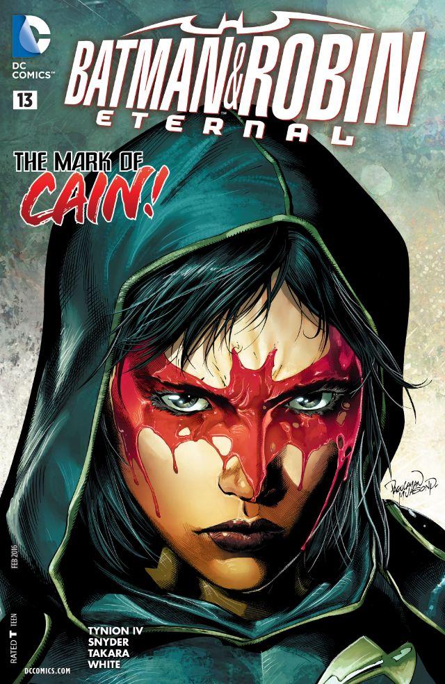 review BATMAN & ROBIN ETERNAL #13