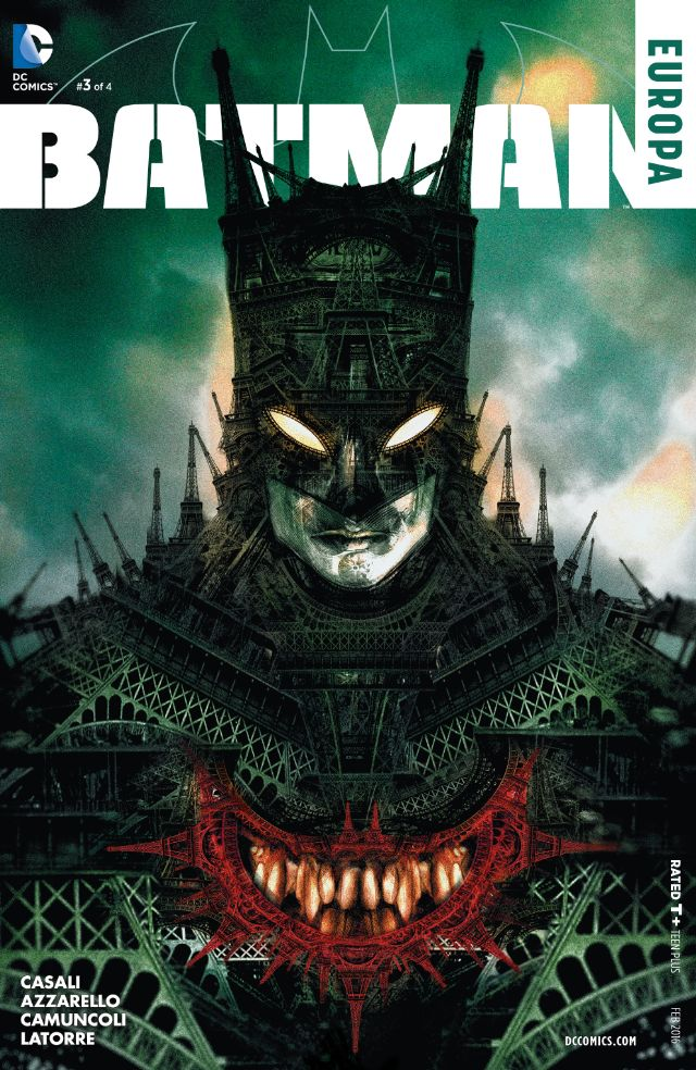 review BATMAN : EUROPA #3
