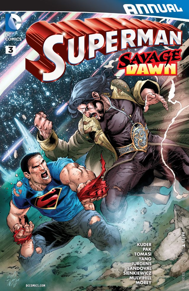 review SUPERMAN ANNUAL #3