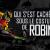 Dossier – Qui s'est caché sous le costume de Robin ?