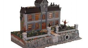 Un fan recrée l'asile d'Arkham en LEGO