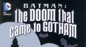 La Malédiction qui s'abattit sur Gotham annoncé par Urban