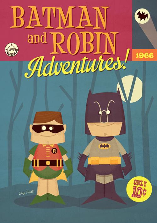 Batman And Robin Adventures!