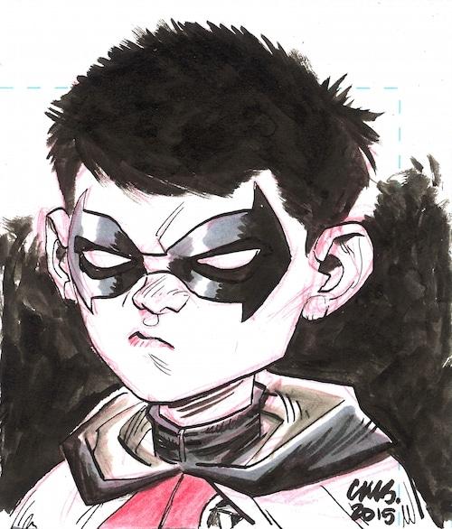 Damian Wayne by Cameron Stewart