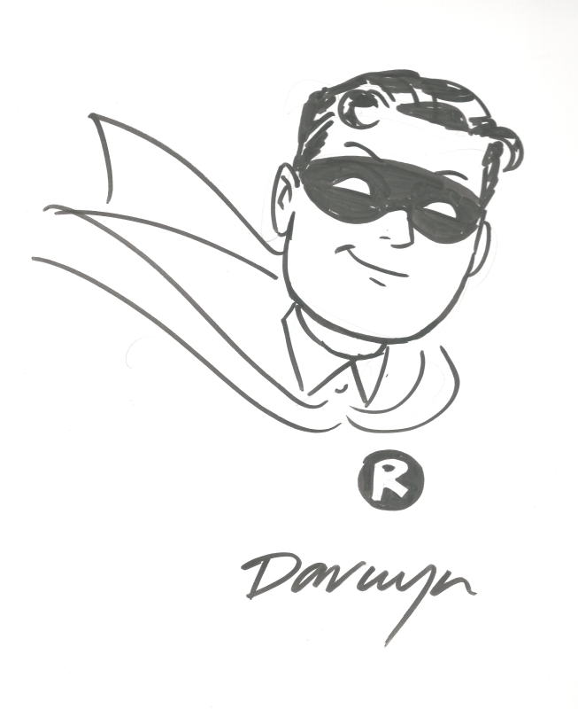 Darwyn Cooke Robin Sketch