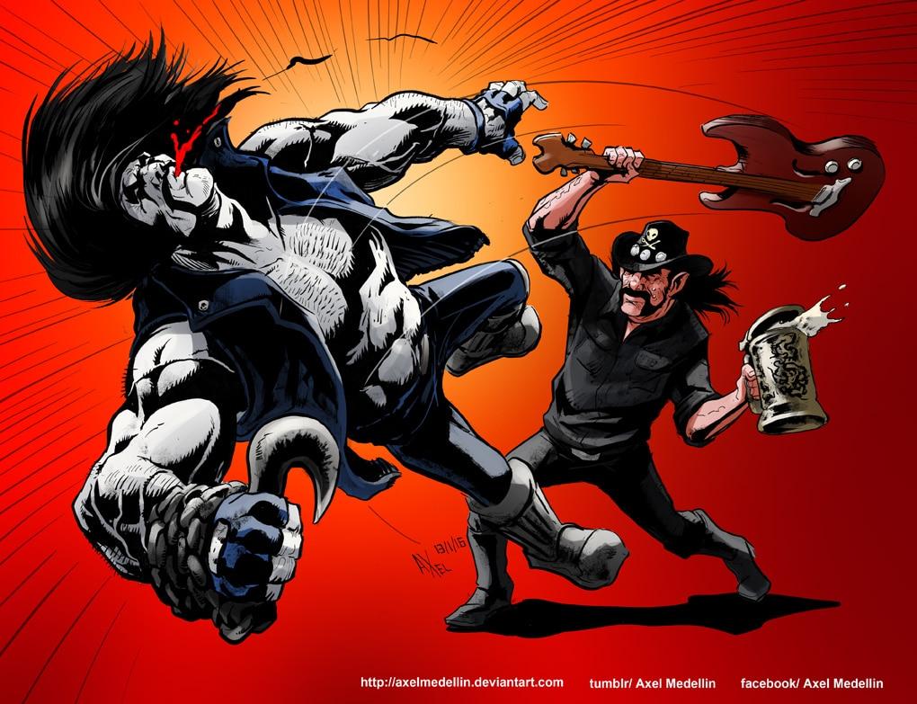 Lemmy et Lobo